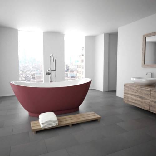 Osez la couleur dans la salle de bain