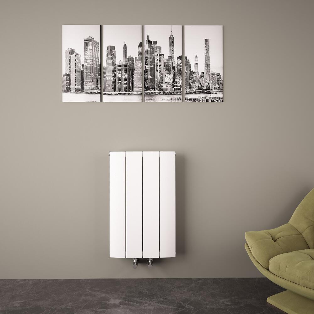 radiateur aluminium blanc