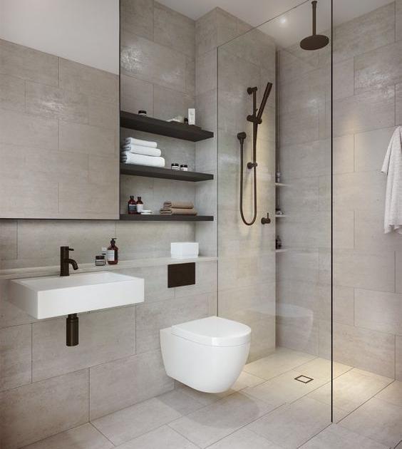Comment optimiser l\'espace dans une petite salle de bain ...