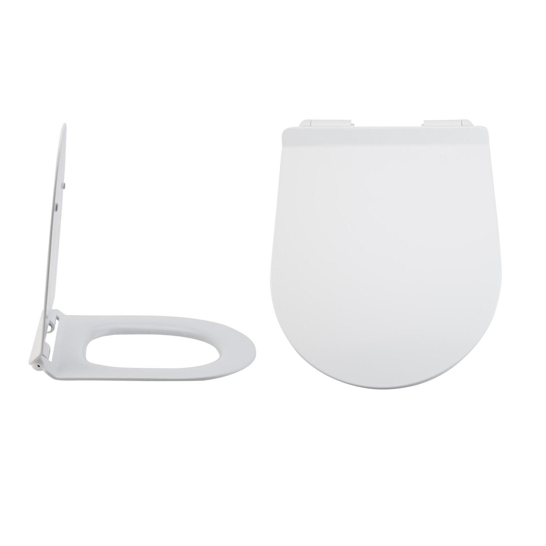 Abattant WC Duroplast Otterton Déclipsable Avec Frein de Chute
