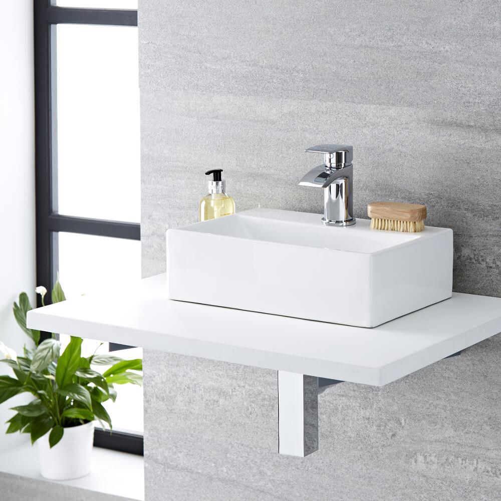 Vasque à poser rectangulaire - 36 x 25 cm - Sandford