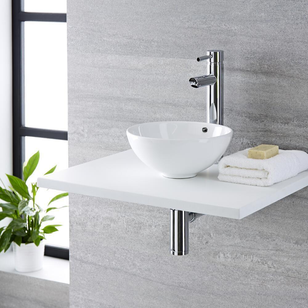 Vasque à poser moderne – Ronde – Ø 41 cm – Non percée