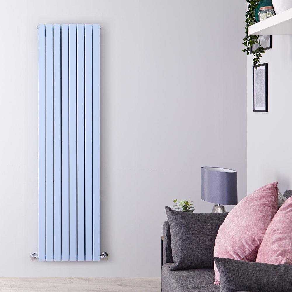 Radiateurs Radiateur vertical Sloane Bleu pâle 178 x 47.2cm 1931 watts